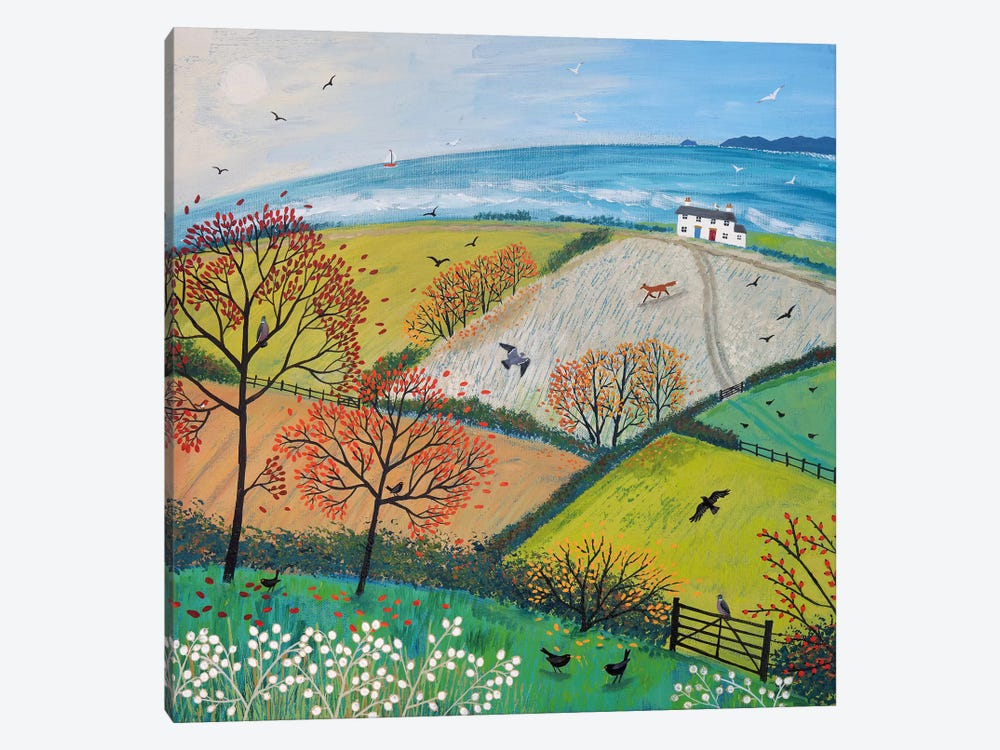 Autumn Breeze by Jo Grundy 1-piece Canvas Art