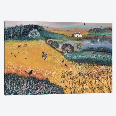 Harvest Home Canvas Print #JOG43} by Jo Grundy Art Print