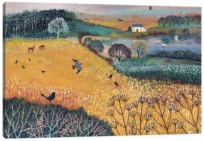 Harvest Home Canvas Art Print