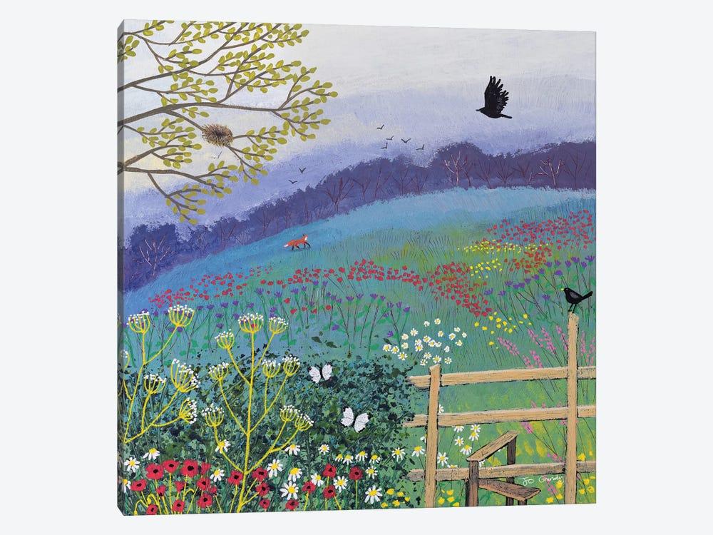 Over The Stile by Jo Grundy 1-piece Canvas Print