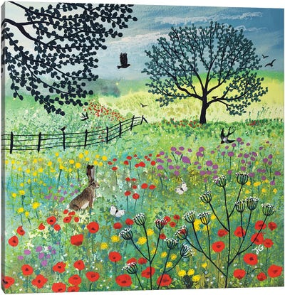 In Summer Meadow Canvas Art Print