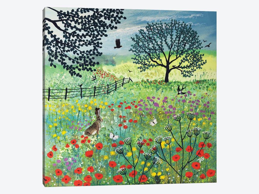In Summer Meadow by Jo Grundy 1-piece Canvas Artwork