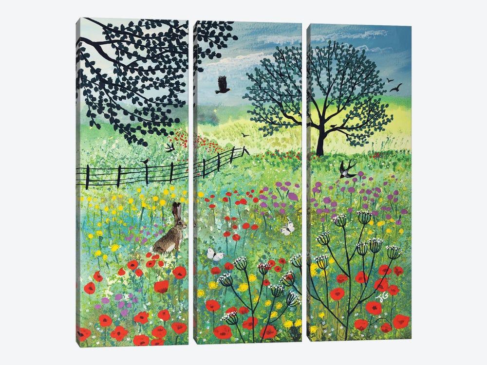 In Summer Meadow by Jo Grundy 3-piece Canvas Art
