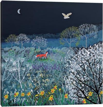 Spring Night Canvas Art Print