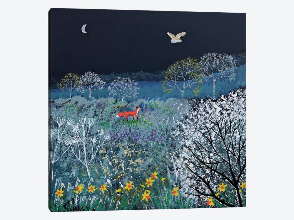 Spring Night by Jo Grundy 1-piece Canvas Print