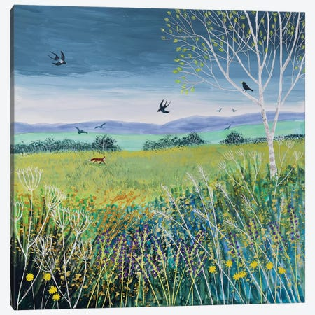 Approaching Storm Canvas Print #JOG56} by Jo Grundy Art Print