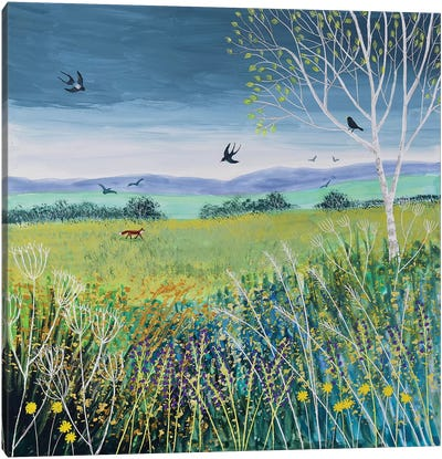 Approaching Storm Canvas Art Print