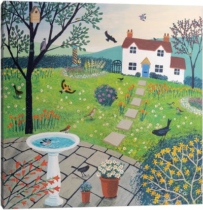 Bird Garden Canvas Art Print