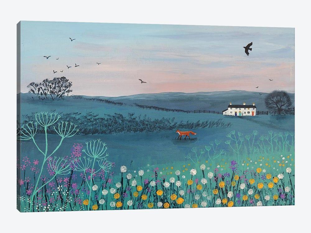 Across Dusky Meadow by Jo Grundy 1-piece Art Print
