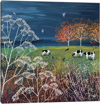 Storm On The Horizon Canvas Art Print