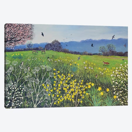 Spring Hope Canvas Print #JOG67} by Jo Grundy Canvas Art