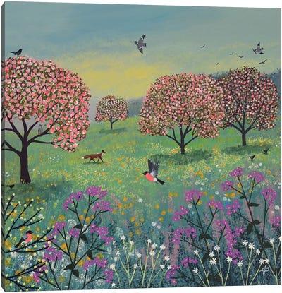 Blossom Meadow Canvas Art Print
