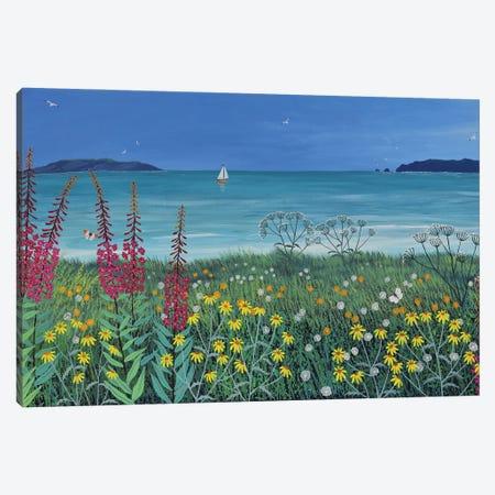 Ocean Solace Canvas Print #JOG75} by Jo Grundy Art Print