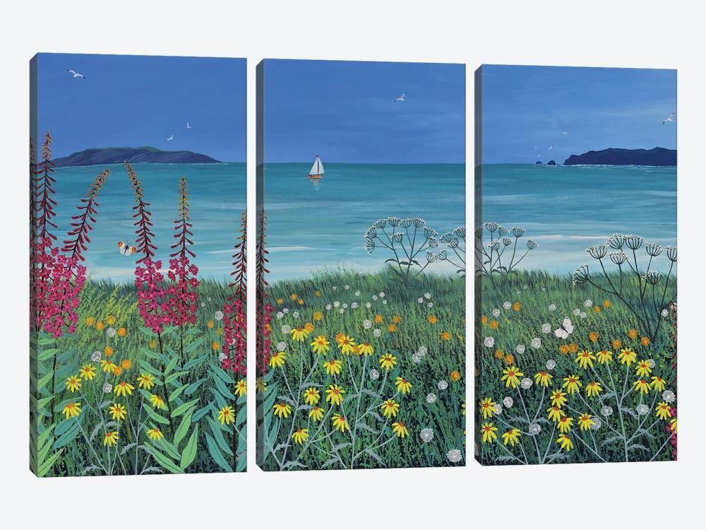 Ocean Solace by Jo Grundy 3-piece Art Print