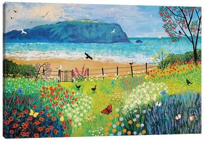 Garden Beside The Sea Canvas Art Print