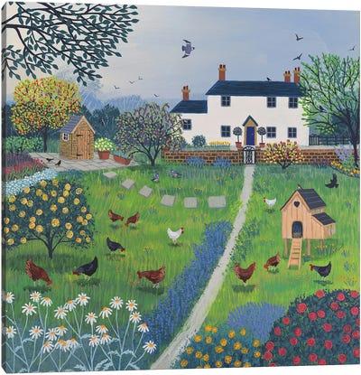 The Hen House Canvas Art Print