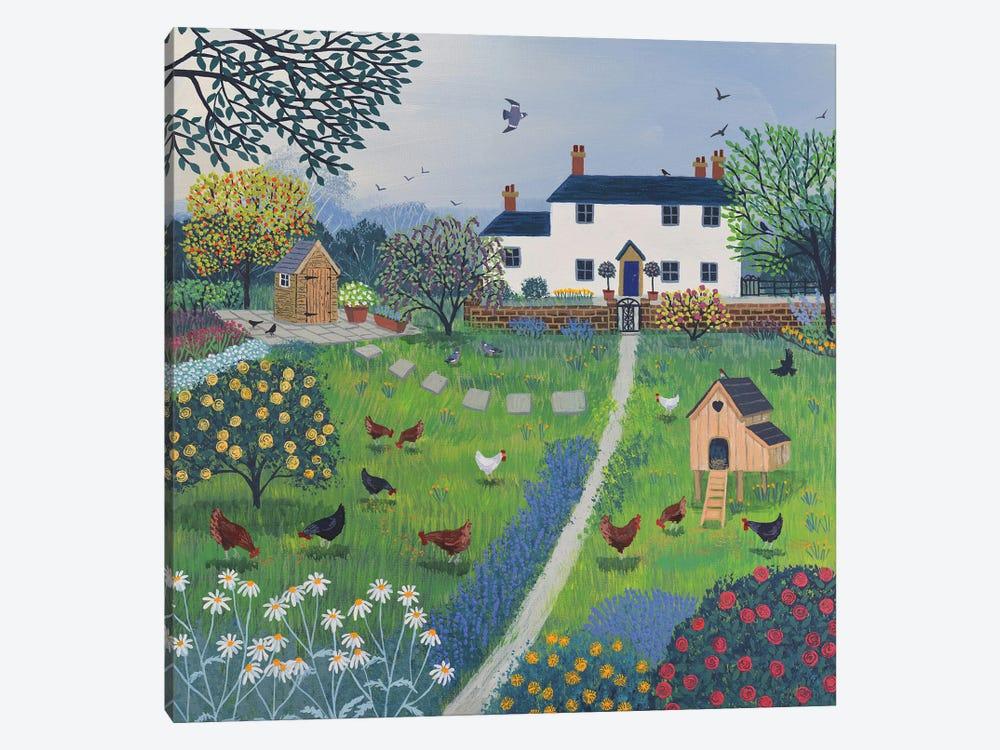 The Hen House by Jo Grundy 1-piece Art Print