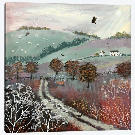 Autumn Dusk Canvas Print #JOG81} by Jo Grundy Canvas Print