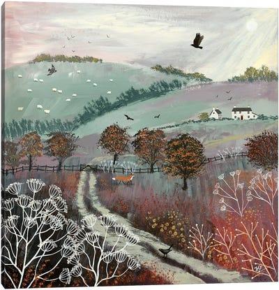 Autumn Dusk Canvas Art Print