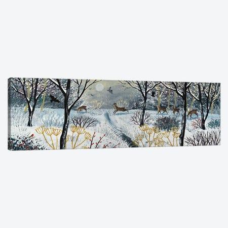 Through The Silence Of Snow Canvas Print #JOG85} by Jo Grundy Canvas Art