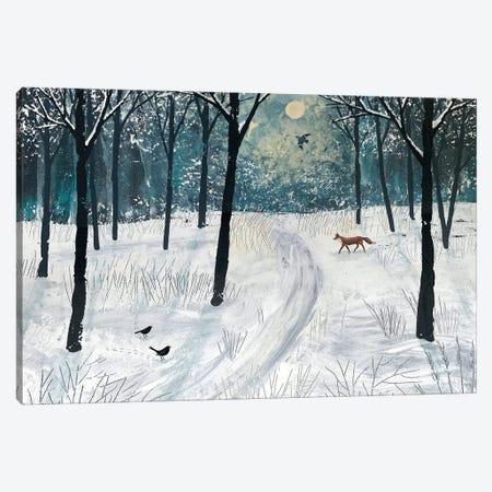 Moonlight Shadow Canvas Print #JOG8} by Jo Grundy Canvas Art Print