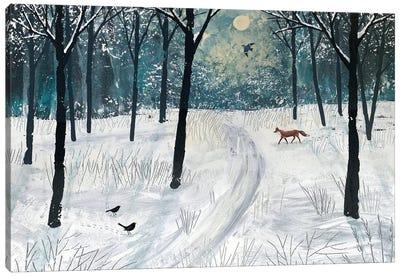 Moonlight Shadow Canvas Art Print