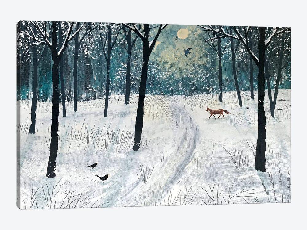 Moonlight Shadow by Jo Grundy 1-piece Canvas Print
