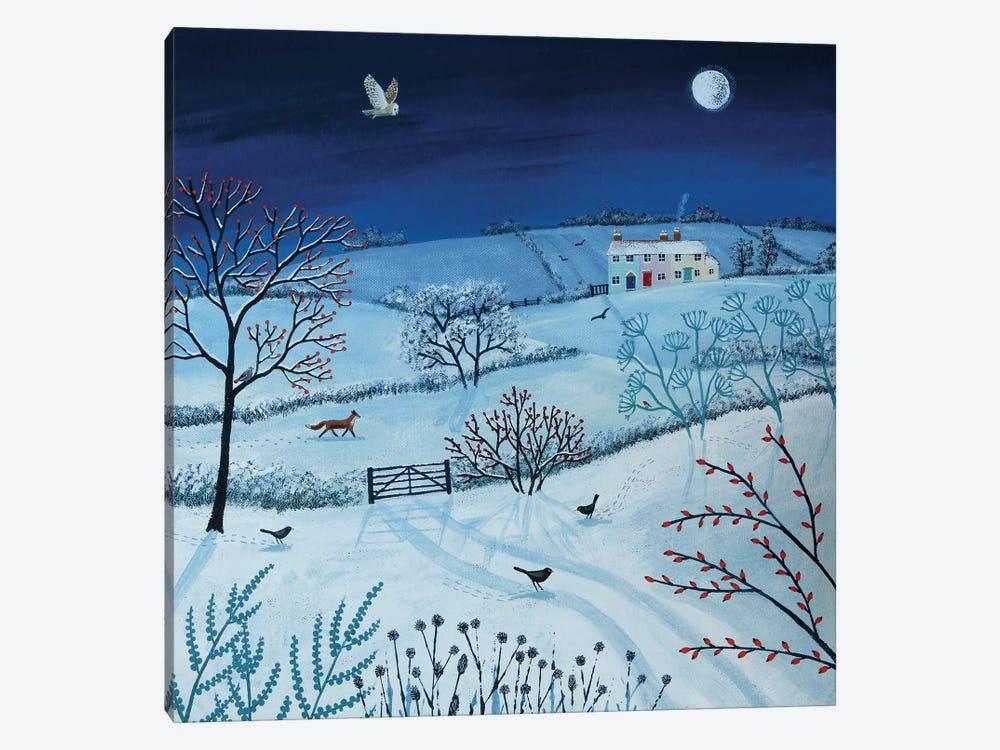 One Snowy Night by Jo Grundy 1-piece Canvas Artwork