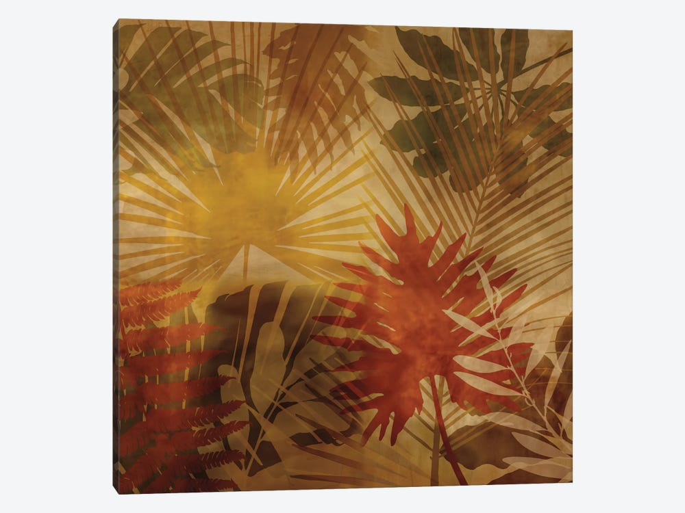 Sunlit Palms I by John Seba 1-piece Canvas Wall Art