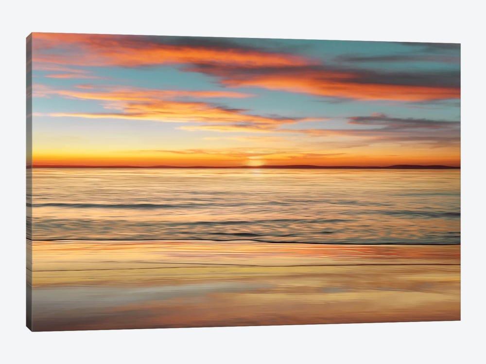 Surf And Sand by John Seba 1-piece Canvas Wall Art