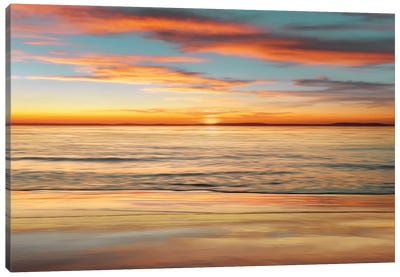 Surf And Sand Canvas Art Print