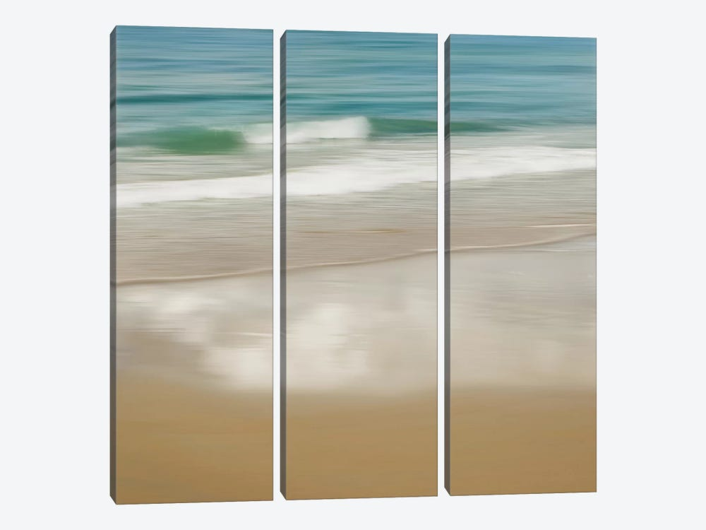 Surf And Sand II by John Seba 3-piece Canvas Art