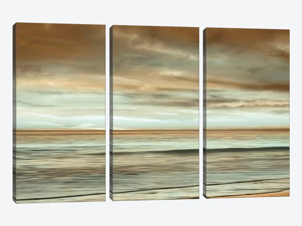 The Surf by John Seba 3-piece Art Print