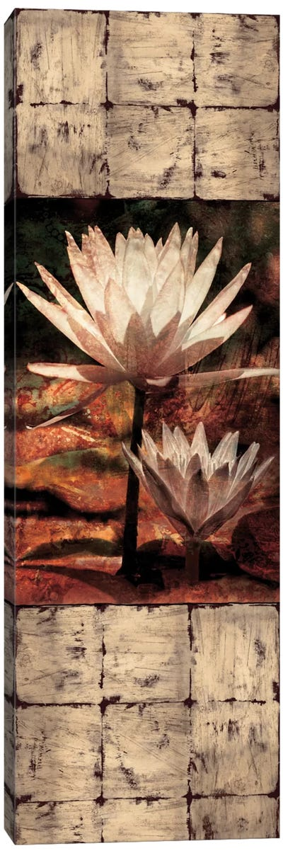 Waterlily Panel II Canvas Art Print