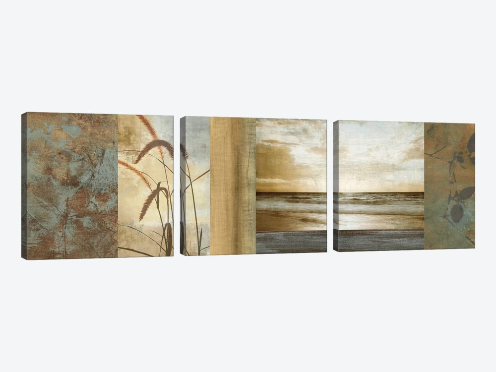Del Mar I by John Seba 3-piece Canvas Art