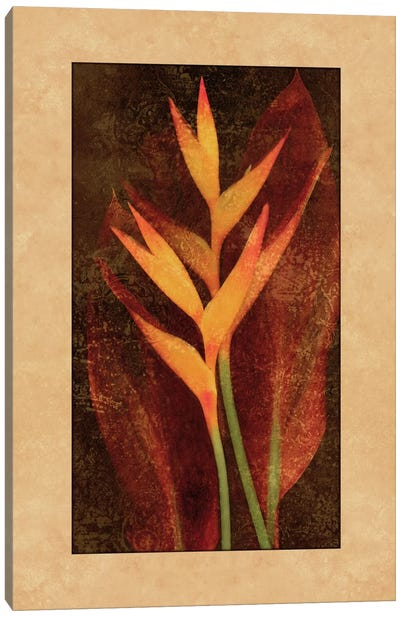 Heliconia Canvas Art Print