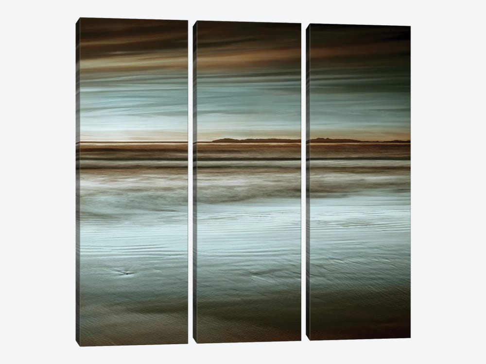 Low Tide by John Seba 3-piece Canvas Artwork