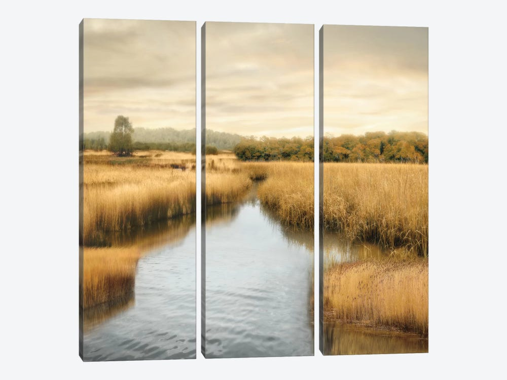Morning Calm I by John Seba 3-piece Canvas Art Print