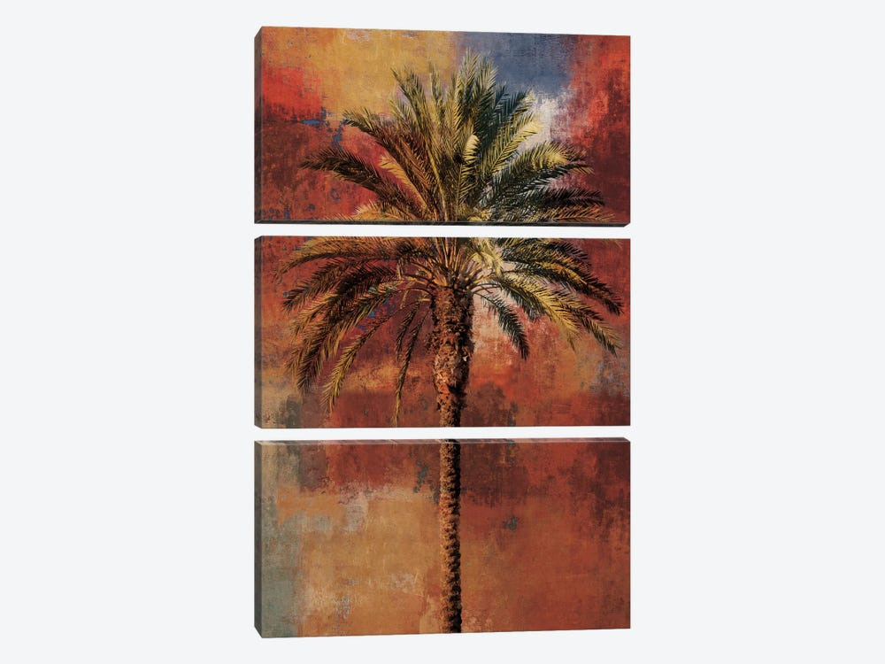 Mustique I by John Seba 3-piece Canvas Wall Art