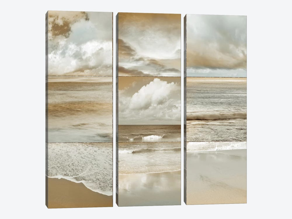 Ocean Air I by John Seba 3-piece Canvas Artwork