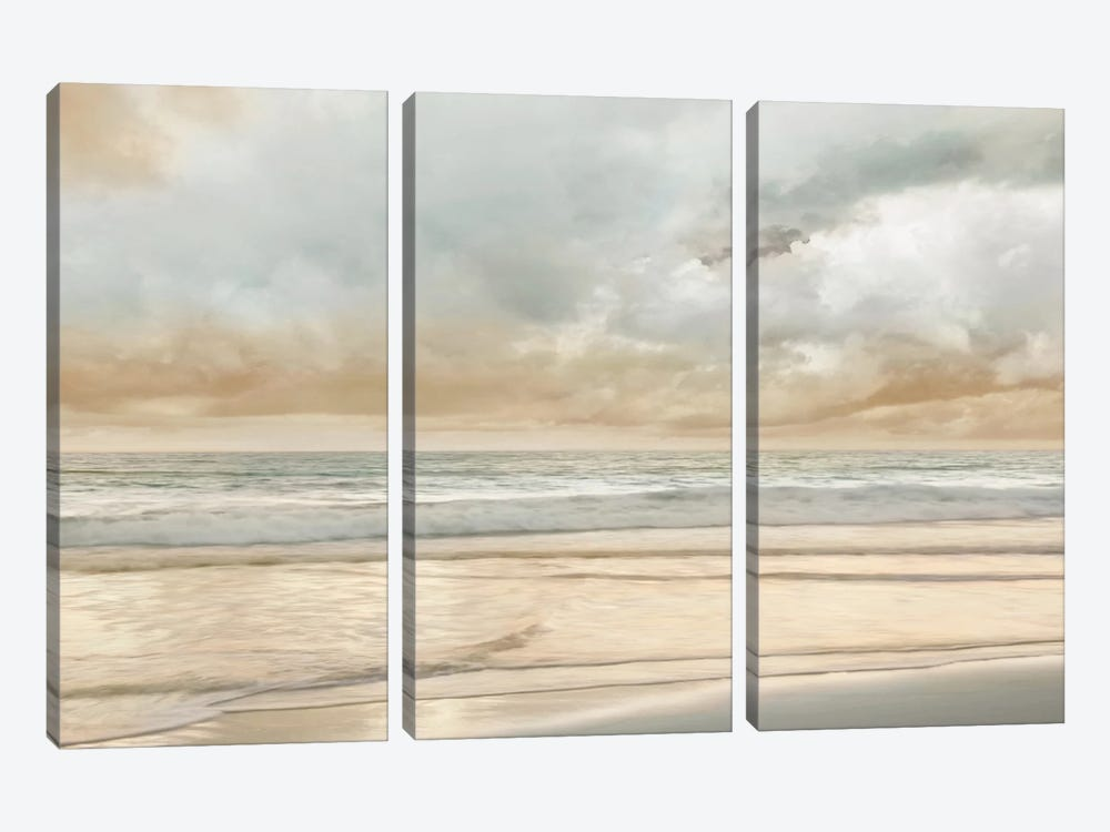 Ocean Tide by John Seba 3-piece Canvas Art