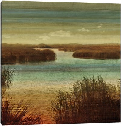 On The Water I Canvas Art Print