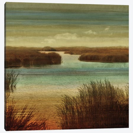 On The Water I Canvas Print #JOH57} by John Seba Canvas Wall Art