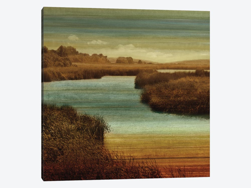 On The Water II by John Seba 1-piece Canvas Art