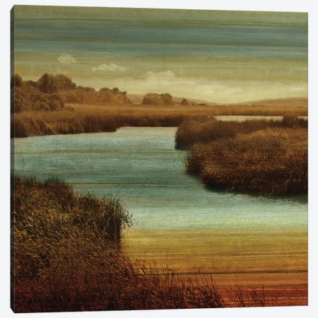 On The Water II Canvas Print #JOH58} by John Seba Art Print
