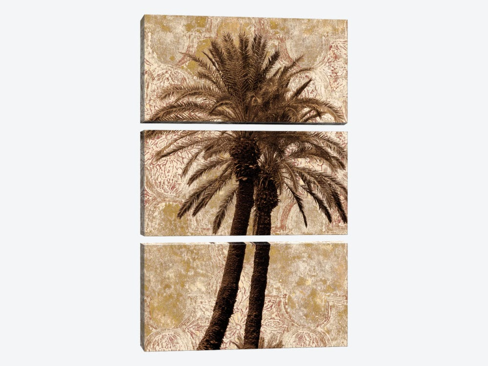 Palm Collage I 3-piece Canvas Wall Art