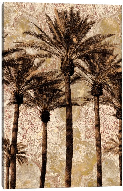 Palm Collage II Canvas Art Print