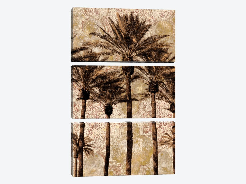 Palm Collage II 3-piece Art Print