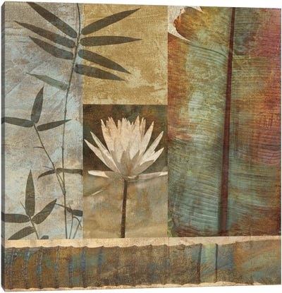 Palm Garden II Canvas Art Print