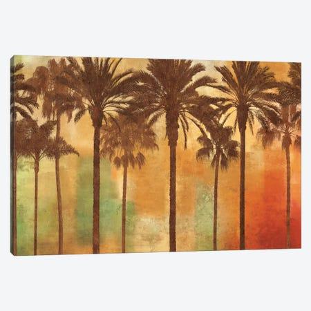 Palm Paradise Canvas Print #JOH68} by John Seba Canvas Artwork